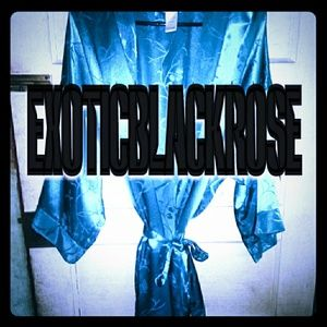 Blue robe M-XL